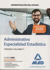 Administrativo de la Administración del Estado, Especialidad Estadística - Ed. MAD