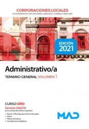 Administrativo de las Corporaciones Locales - Ed. MAD