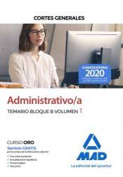 Administrativos de las Cortes Generales - Ed. MAD