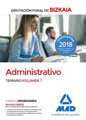 Administrativo de la Diputación Foral de Bizkaia - Ed. MAD