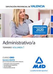 Administrativo de la Diputación Provincial de Valencia - Ed. MAD