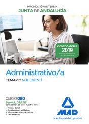 Administrativos de la Junta de Andalucía. Promoción Interna - Ed. MAD