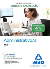 Administrativo de la Junta de Andalucía Promoción Interna. Test de Ed. MAD