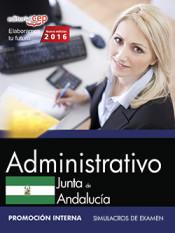 Administrativo Junta de Andalucía. Simulacros de examen. Promoción interna
