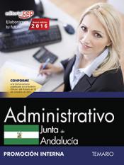 Administrativo Junta de Andalucía. Temario. Promoción Interna