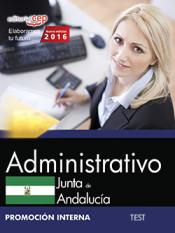 Administrativo Junta de Andalucía. Test. Promoción Interna