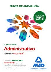 Administrativos de la Junta de Andalucía. Turno Libre - Ed. MAD