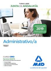 Administrativo de la Junta de Andalucía Turno Libre. Test de Ed. MAD
