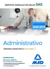 Administrativo del Servicio Andaluz de Salud. Temario específico volumen 1