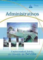 Administrativo de la Universidad Pablo de Olavide de Sevilla. Test