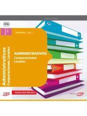 Administrativo de Corporaciones Locales. EDITORIAL CEP, S.L.
