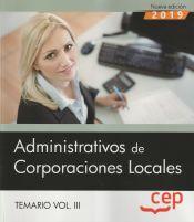 Administrativo de Corporaciones Locales - EDITORIAL CEP