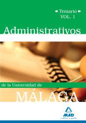 Escala Administrativa de la Universidad de Málaga - Ed. MAD