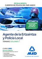 Escala Básica de los Cuerpos de Policía del País Vasco ( Ertzaintza y Policía Local) - Ed. MAD