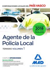 Agente de la Policía Local del País Vasco - Ed. MAD