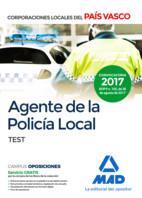 Agente de la Policía Local del País Vasco. Test