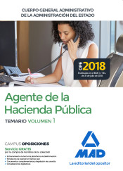 Agentes de la Hacienda Pública. Cuerpo General Administrativo de la Administración del Estado - Ed. MAD