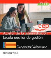 Auxiliar de Gestión de la Administración de la Generalitat Valenciana - EDITORIAL CEP