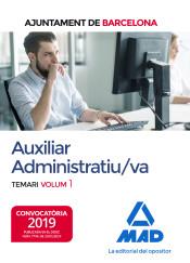 Auxiliar Administratiu/va de L´Ajuntament de Barcelona - Ed. MAD