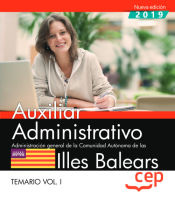 Cuerpo Auxiliar de la Comunidad Autónoma de las Illes Balears - EDITORIAL CEP