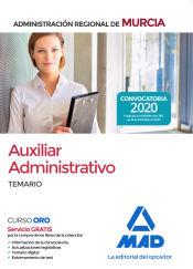 Auxiliar Administrativo de la Administración Regional de Murcia - Ed. MAD