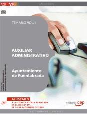 Auxiliar Administrativo del Ayuntamiento de Fuenlabrada. Temario Vol. I.