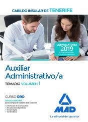Auxiliar Administrativo del Cabildo Insular de Tenerife - Ed. MAD