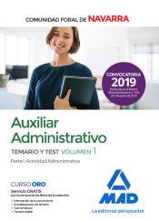 Auxiliar Administrativo de la Comunidad Foral de Navarra - Ed. MAD