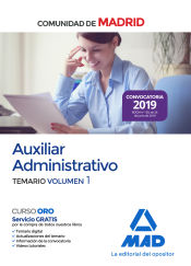 Auxiliar Administrativo de la Comunidad de Madrid - Ed. MAD