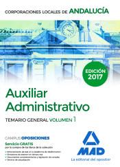Auxiliar Administrativo de Corporaciones Locales de Andalucía - Ed. MAD
