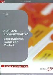 Auxiliar Administrativo Corporaciones Locales de Madrid. Test