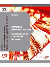 Temario de oposiciones - Auxiliar Administrativo