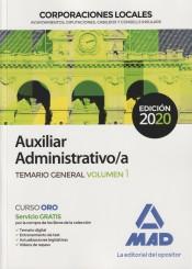 Auxiliar Administrativo de Corporaciones Locales - Ed. MAD