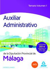 Auxiliar administrativo de la Diputación de Málaga - Ed. MAD
