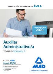 Auxiliar Administrativo de la Diputación Provincial de Ávila - Ed. MAD