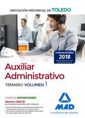 Auxiliar Administrativo de la Diputación Provincial de Toledo - Ed. MAD