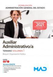 Auxiliar Administrativo (estabilización) Administración General del Estado - Ed. MAD
