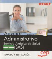 Auxiliar Administrativo del Servicio Andaluz de Salud (SAS) - EDITORIAL CEP