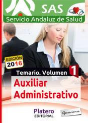 Auxiliar Administrativo/a del Servicio Andaluz de Salud (SAS) - Platero Editorial
