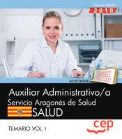 Auxiliar Administrativo del Servicio Aragonés de Salud - EDITORIAL CEP