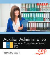 Auxiliar Administrativo del Servicio Canario de Salud - EDITORIAL CEP