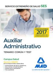 Auxiliar Administrativo del Servicio Extremeño de la Salud (SES) - Ed. MAD