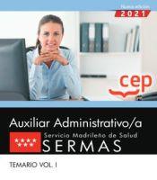Auxiliar Administrativo del Servicio Madrileño de Salud (SERMAS) - EDITORIAL CEP