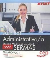 Auxiliar Administrativo del Servicio Madrileño de Salud (SERMAS) - Ed. CEP