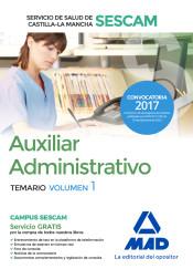 Auxiliar Administrativo del Servicio de Salud de Castilla-La Mancha (SESCAM) - Ed. MAD