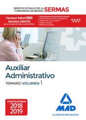 Auxiliar Administrativo del Servicio Madrileño de Salud (SERMAS) - Ed. MAD