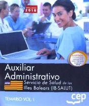 Auxiliar Administrativo de La Función Administrativa del Servicio de Salud de Las Illes Balears (ib-salut) - EDITORIAL CEP