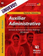 Auxiliar Administrativo del Servicio de Salud de las Islas Baleares (IB-SALUT) - Ediciones Rodio