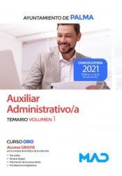 Auxiliar Administrativo del Ayuntamiento de Palma - Ed. MAD