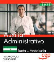 Auxiliar Administrativo de la Junta de Andalucía. Turno Libre - EDITORIAL CEP